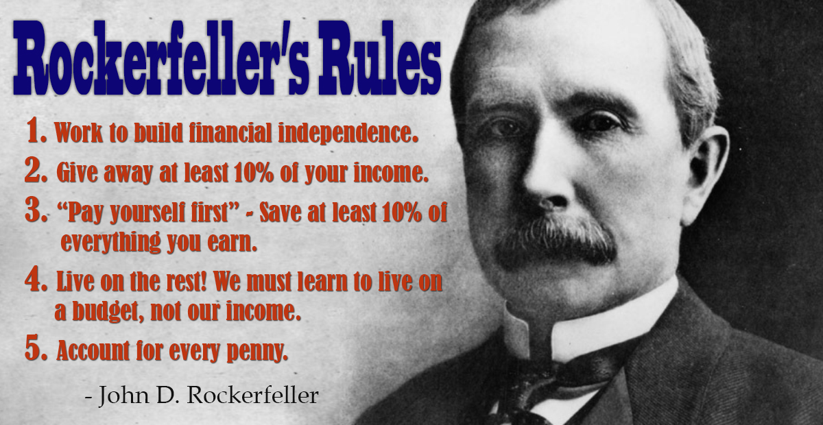 Rockerfeller's Rules