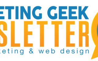 Marketing Geek Newsletter