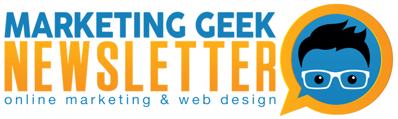 Marketing Geek Newsletter Subscribe
