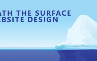 website design below the surface