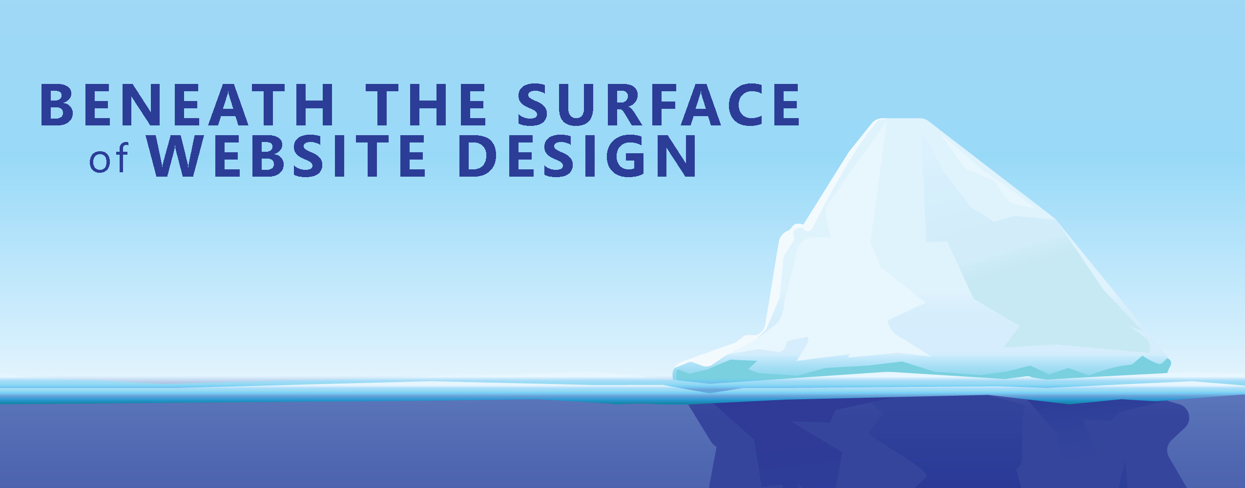 website design below the surface
